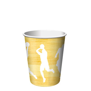 Basketball 9 oz. Cups