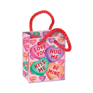 Candy Heart Mini Gift Party Bag Favors