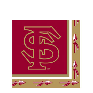 Florida State Luncheon Napkins