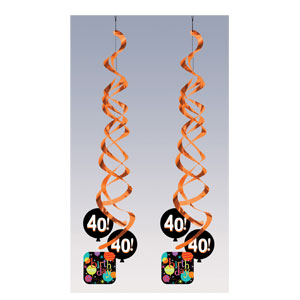 Life is Great at 40 Danglers - 2ct