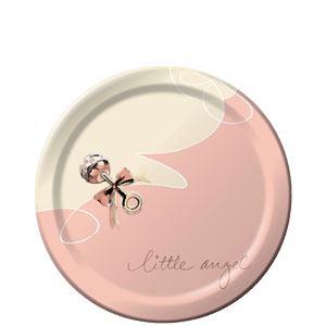 Little Angel 7 Inch Plates
