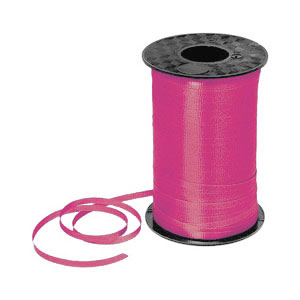 Hot Pink Curling Ribbon- 500yds