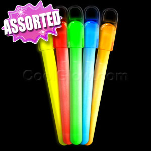 6 Inch Standard Glow Sticks - Assorted