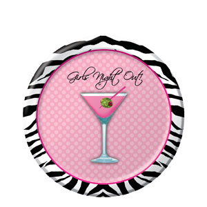 Girls Night Out 7 Inch Plates
