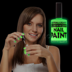 Glow in the Dark Nail Polish - Green