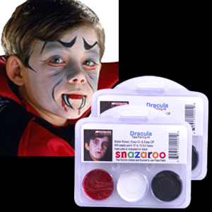 Dracula Face Paint Kit
