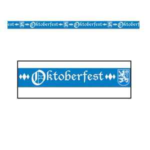 Oktoberfest Party Tape - 20ft