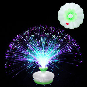 LED Fiber Optic Centerpiece - Circle