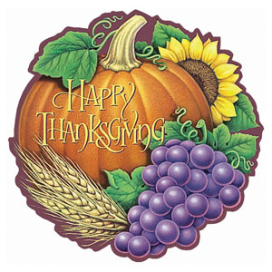 Thanksgiving Heritage Cutout- 18 Inch