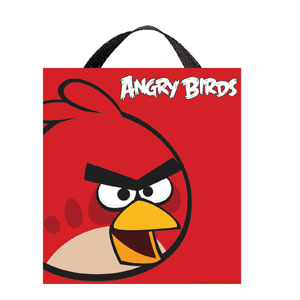 Angry Birds Fabric Treat Bag- 14in