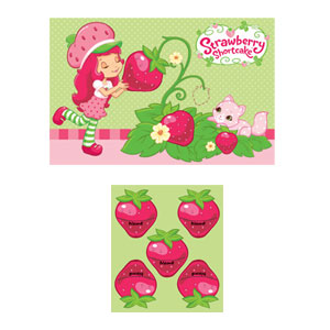 Strawberry Shortcake Party Game- 2pc
