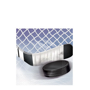 NHL Ice Time Beverage Napkins- 16ct