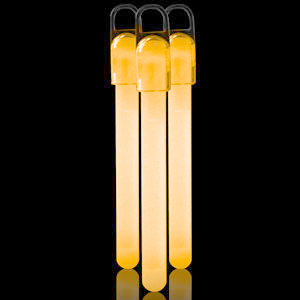 4 Inch Standard Glow Sticks - Orange