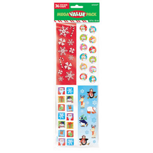 Christmas Stickers- 36ct