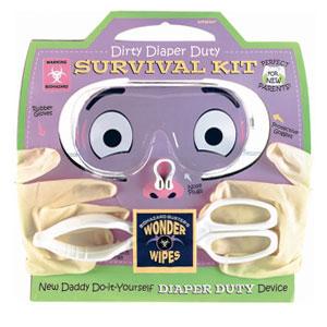 New Parent Diaper Survival Kit