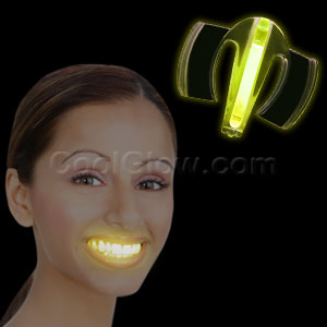 Glow Mouth Guard - Yellow