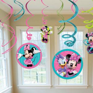 Disney Minnie Mouse Swirls- 12ct