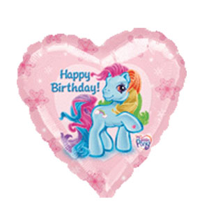 My Little Pony Birthday Balloon- 18in