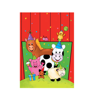 Barnyard Bash Loot Bags- 8ct