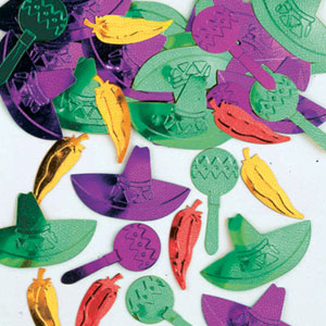 Fiesta Assorted Confetti- .5 oz.