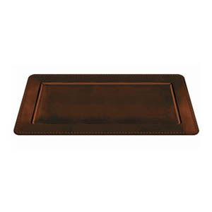Elegant Fall Rectangular Platter- Brown 16 Inch