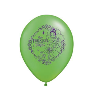 The Princess and the Frog Balloons- 25ct
