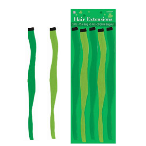 St. Patrick's Day Hair Extensions