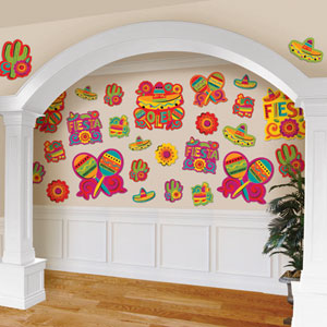 Fiesta Value Pack Assorted Cutouts- 30ct