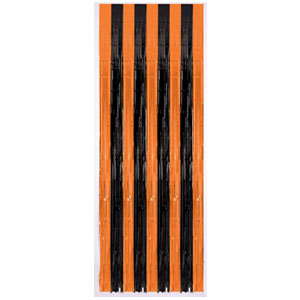 Halloween Plastic Door Curtain- 8ft