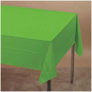 Citrus Green Plastic Tablecover