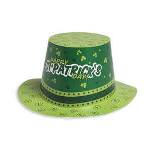 St. Patrick's Day Paper Top Hot
