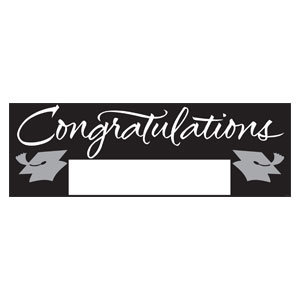 Grad Fill In Banner - Black