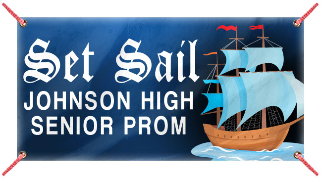 Sail Seas - Custom Banner