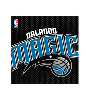 Orlando Magic Luncheon Napkins