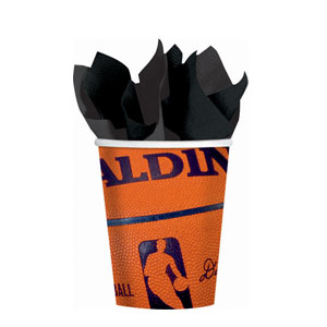 Spalding Basketball 9 oz. Cups