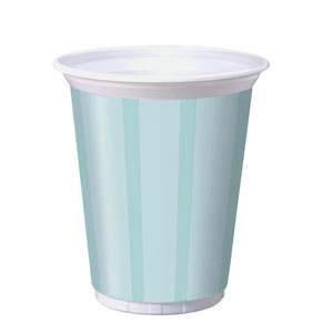 Black Satin 16 oz. Plastic Cups