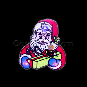 Flashing Santa and Gifts Blinky