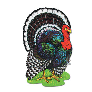 Turkey Cutout - 25 inch