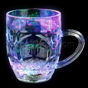 LED 10oz Liquid Activated Mug - Multicolor