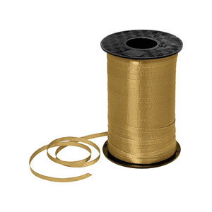 Gold Curling Ribbon- 500yds