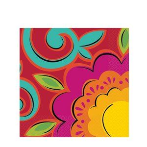Caliente Luncheon Napkins- 36ct