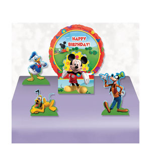 Mickey Happy Birthday Balloon Centerpiece- 5pc