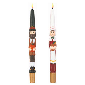 Pilgrims Taper Candles- 2ct