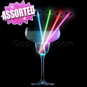 Fun Central V82 Glow in the Dark Stir Sticks - Assorted