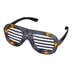 LED Shutter Shades - Orange