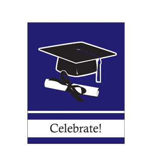 Grad Invitation - Purple