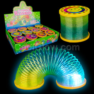 LED Coil Spring - Assorted Designs