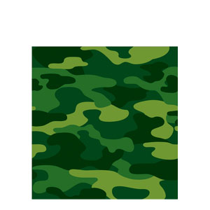 Camo Gear Plastic Tablecover