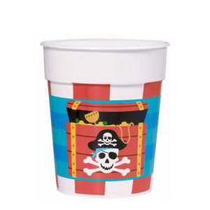 Pirate Party Cup- 16oz