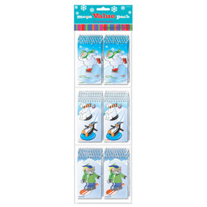 Winter Fun Notepads- 30ct